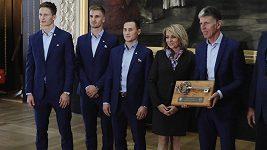 Slavia převzala klíče od Prahy