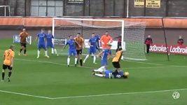 Bizarní penalta ve Skotsku