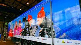 Nový servisní truck biatlonistů