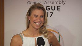 Andrea Hlaváčková o roli moderátorky