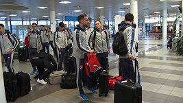 Česká fotbalová reprezentace zamířila na katarskou misi