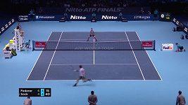 Parádní prohoz Rogera Federera
