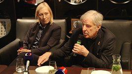 Co si Martina Navrátilová a Jan Kodeš myslí o současných českých tenistech?