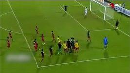 Penalta v utkání Katar - Irák