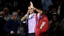 Roger Federer vyhrál v Londýně i třetí zápas