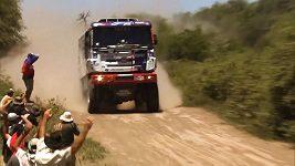 Dva kamiony Buggyry se chystají na Dakar