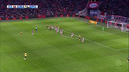 Kluivertův hattrick v zápase Ajax - Roda Kerkrade