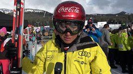 Ester Ledecká po 7. místě ve sjezdu SP v Lake Louise