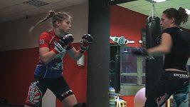 Sandra Mašková před svoji premiérou v MMA