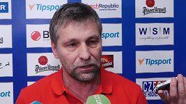 Trenér Josef Jandač musí řešit velké množství omluvenek