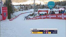 Norský běžec na lyžích Simen Hegstad Krüger slavil v Toblachu premiérový triumf