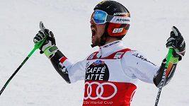 Fenomenální rakouský sjezdař Marcel Hirscher vyhrál popáté v řadě závod SP
