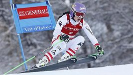 Anna Veithová slaví první triumf v SP po vážném zranění kolena