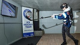 Hokejistům Liberce pomáhá při tréninku virtuální realita