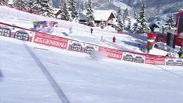 Truppeová nezvládla dojezd obřího slalomu v Courchevelu