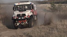 PRE START OF RALLY DAKAR 2018 BY INSTAFOREX LOPRAIS TEAM TATRA TRUCK FULL GAS
