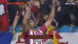 První gól Diega Costy v dresu Atlétika Madrid po návratu z Chelsea