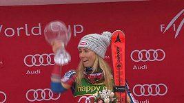 Mikaela Shiffrinová ovládla slalom v Kranjské Goře