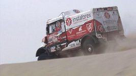 Momentky z 2. etapy Rallye Dakar