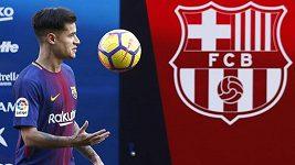 Přivítání Philippa Coutinha na Camp Nou