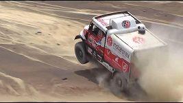 Aleš Loprais při 3. etapě Dakaru