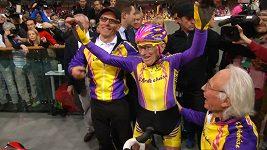 Cyklista Robert Marchand ve 105 letech stále sportuje