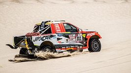 Sestřih 5. etapy Rallye Dakar