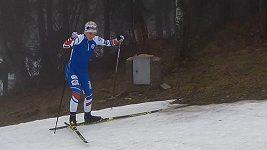 Naděje českého běhu na lyžích Barbora Havlíčková
