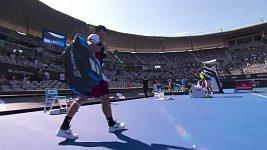 Semifinále v Sydney: Medvěděv - Fognini
