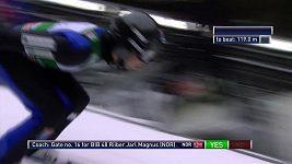 Norský sdruženář Jan Schmid slavil ve Val di Fiemme první vítězství v sezóně