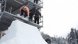 Eva Samková zkouší na Dolní Moravě olympijský start