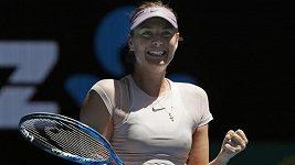 Maria Šarapovová je ve 3. kole Australian Open