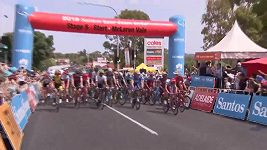 Tour Down Under - 5. etapa. Peter Sagan ztratil, Richie Porte triumfoval