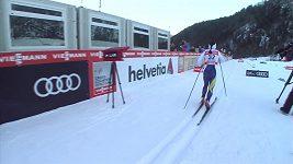 Finka Pärmäkoskiová a Poltoranin z Kazachstánu ovládli pokračování SP běžců na lyžích v Planici