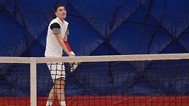 Tenista Daniel Vrba, jehož kariéru zbrzdila vážná nemoc kostní dřeně