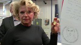 Ražba zlaté mince Ivana Hlinky