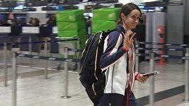 Martina Sáblíková odletěla do dějiště olympijských her