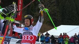 Hirscher ovládl obří slalom v Ga-Pa