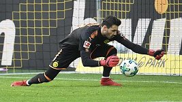 Gólman Dortmundu naštval fanoušky