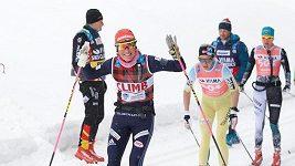 Toblach-Cortina, závod Ski Classics v dálkovém lyžování.