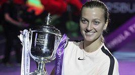 Česká tenistka Petra Kvitová triumfovala v Petrohradu.