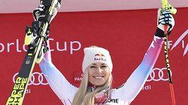 Americká lyžařka Lindsey Vonnová ovládla v v Garmisch-Partenkirchenu také druhý sjezd
