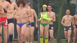 V Srbsku se konal běh ve spodním prádle
