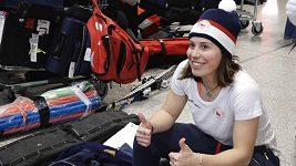 Další čeští sportovci v čele s Evou Samkovou a Ester Ledeckou odletěli do Pchjongčchangu