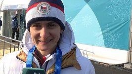 Martina Sábliková popisuje své první dojmy z olympiády