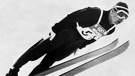První zlatou olympijskou medaili pro české barvy získal před 50 lety skokan na lyžích Jiří Raška