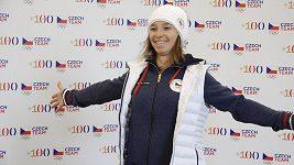 Šárka Pančochová hází pády za hlavu. Na olympijský slopestyle se těší.