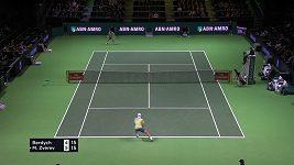 Berdych na turnaji v Rotterdamu