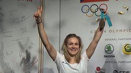 Karolína Erbanová v Českém domě