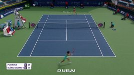 Karolína Plíšková otočila v Dubaji zápas s Carlou Suárezovou ze Španělska